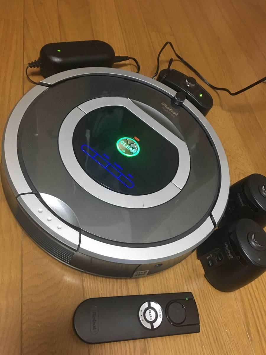 激安スタート売り切り!! 【iRobot】日本仕様正規品 ロボット掃除機 Roomba ルンバ 780 2013年製