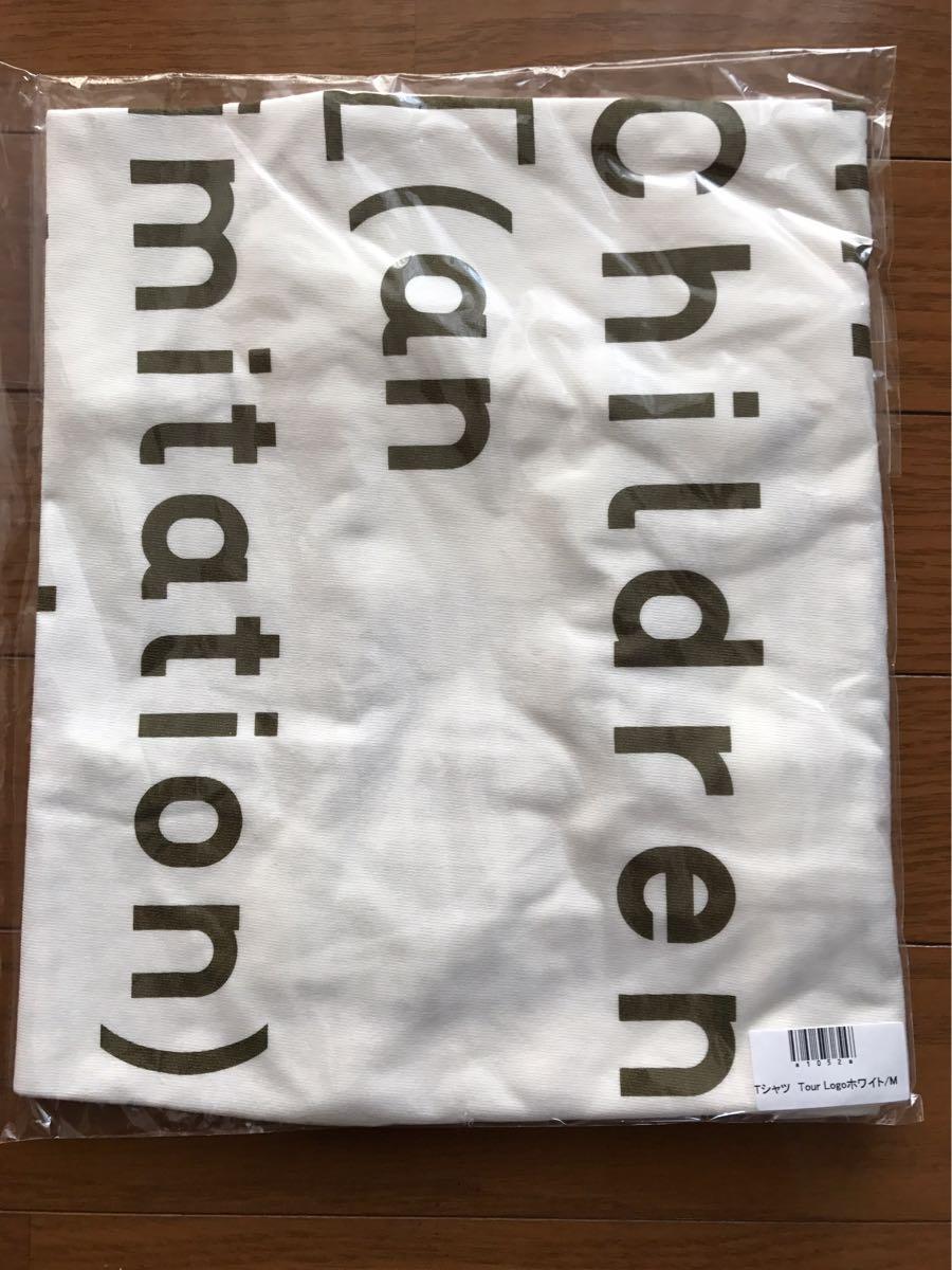 【新品】Mr.Children an imitation blood orange Tour オフィシャルTシャツ Mサイズ ホワイト