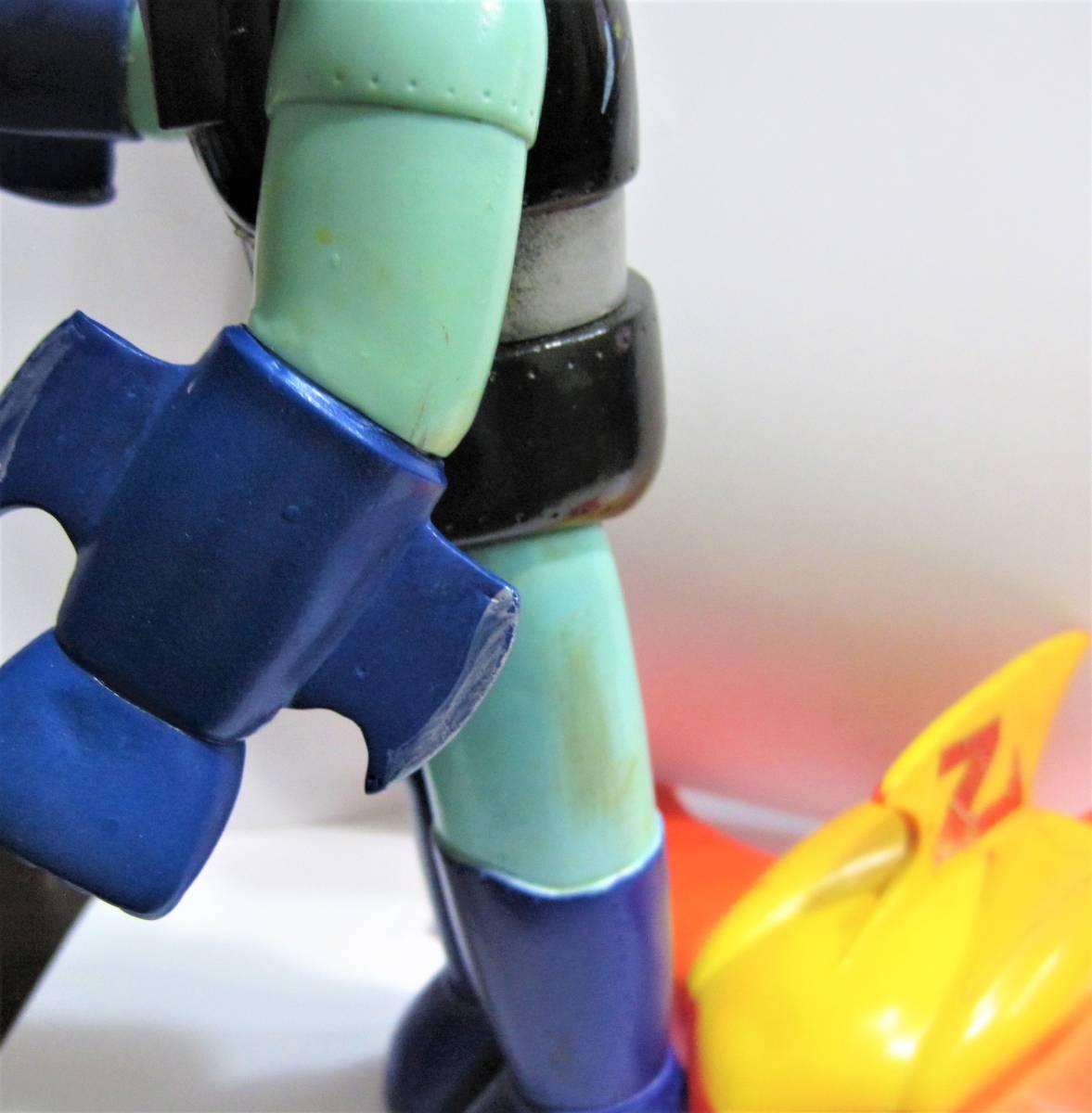 旧バンダイ マジンガーZ ジェットスクランダー 付き ソフビ ダイナミックプロ 東映動画 永井豪 兜甲児 マジンガー_画像8