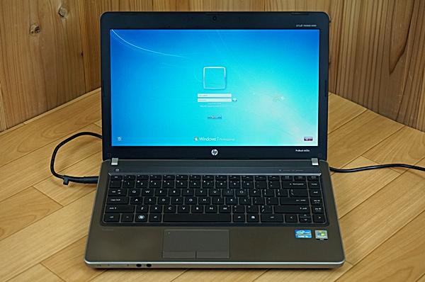 【現状】HP★15.6型ノート★Core i5/4GB★Windows7Pro★ProBook 4530S