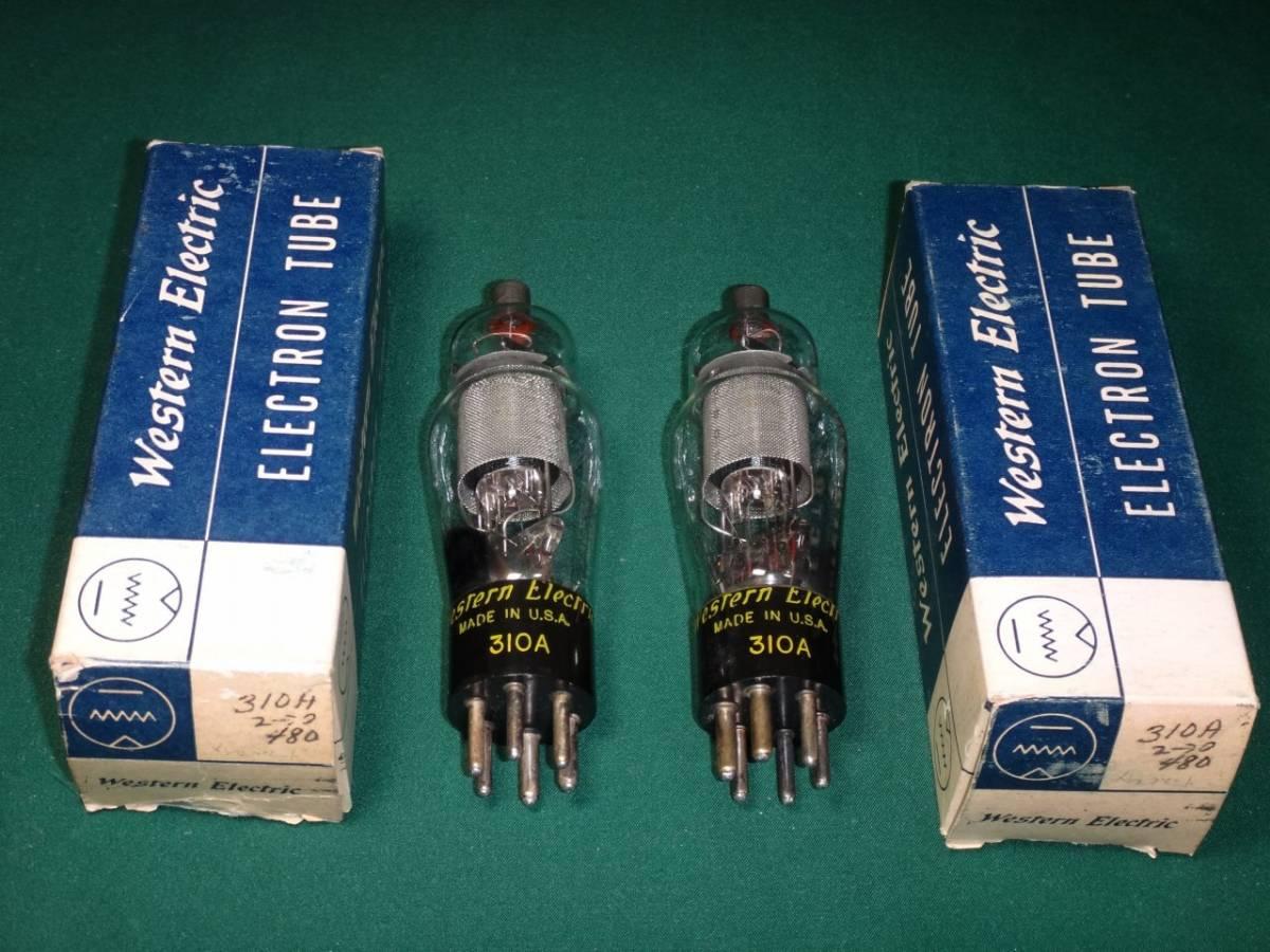 【希少真空管】 ウェスタンエレクトリック WE310Aメッシュプレート ペア、Western Electric WE310Aメッシュプレート ペア_画像3