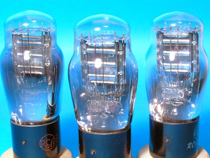 3極出力管 RCA 71A ST管 1937-1938年 3本組_画像3
