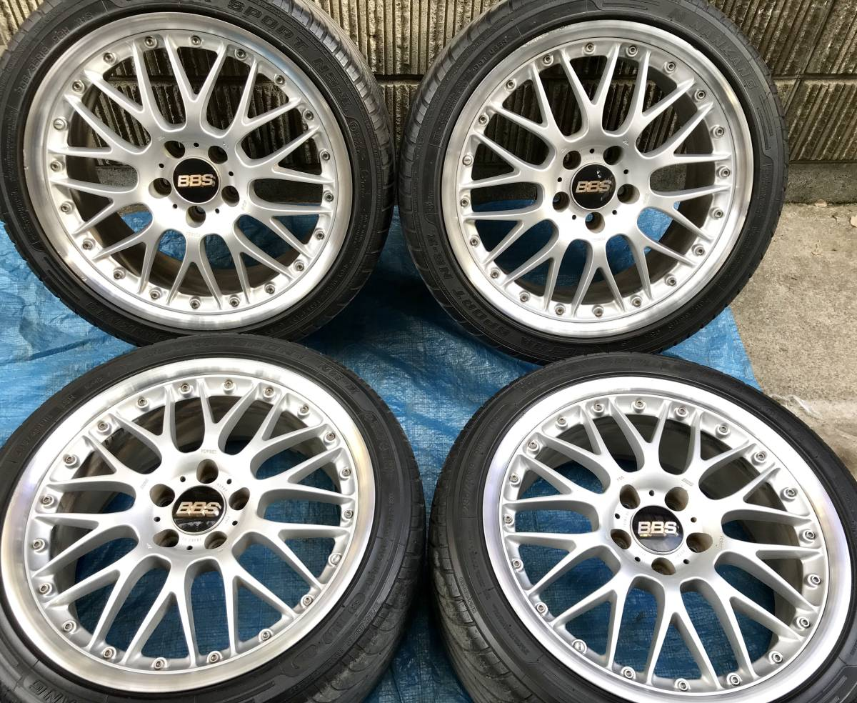 BBS FORGED RS789 RS787 18インチ 8J+40 9J+45 114.3 4本セット