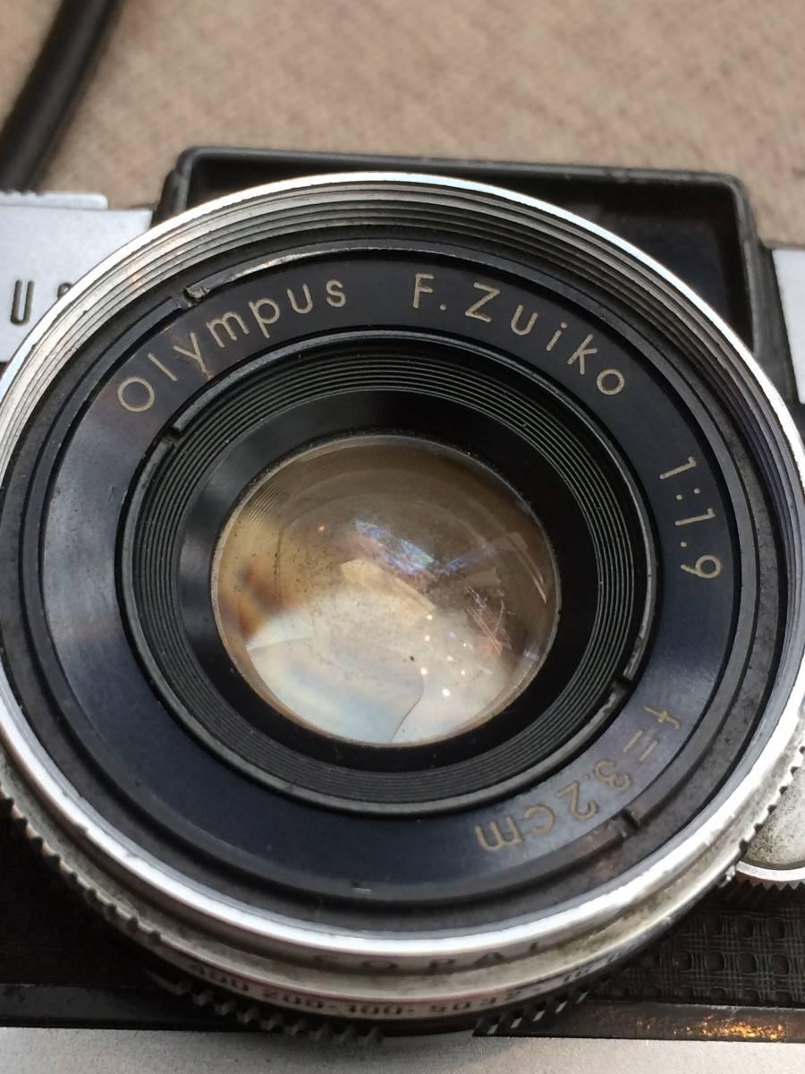 ★中古保管品 OLYMPUS オリンパス PEN-D 1:1.9 F=3.2cm★_画像4