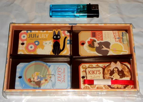 【ジブリ】魔女の宅急便 ギフトカードセット 黒猫ジジ キキ_画像1