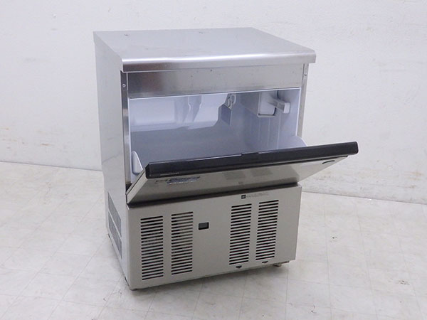 D0693 2012年 ホシザキ アンダーカウンター業務用製氷機/キューブアイスメーカー IM-55M/55kg【中古】_画像2