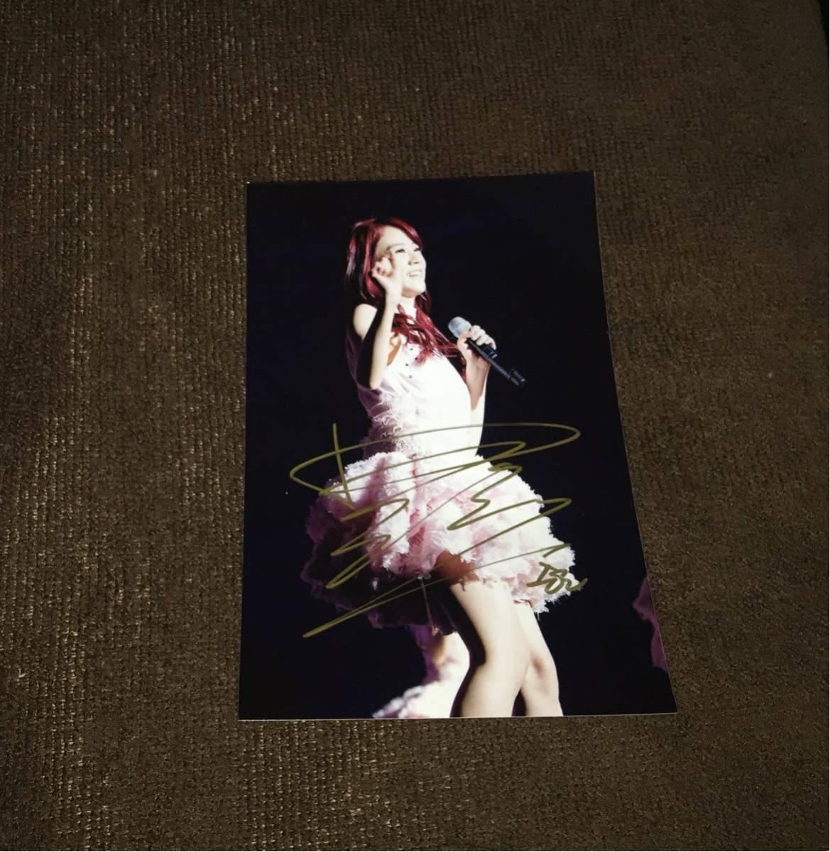 ▲KARA/カラ▲ 『Sengyoen/ハン スンヨン』 直筆サイン入りブロマイド写真#1 [コレクターズアイテム]