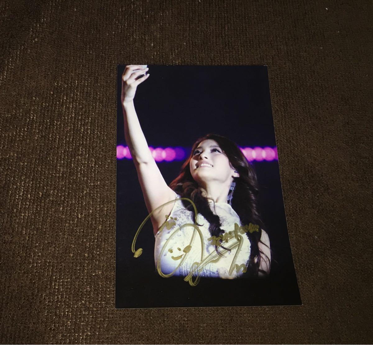 ▲KARA/カラ▲『Gyuri/パク・ギュリ』 直筆サイン入りブロマイド写真#4 [コレクターズアイテム]