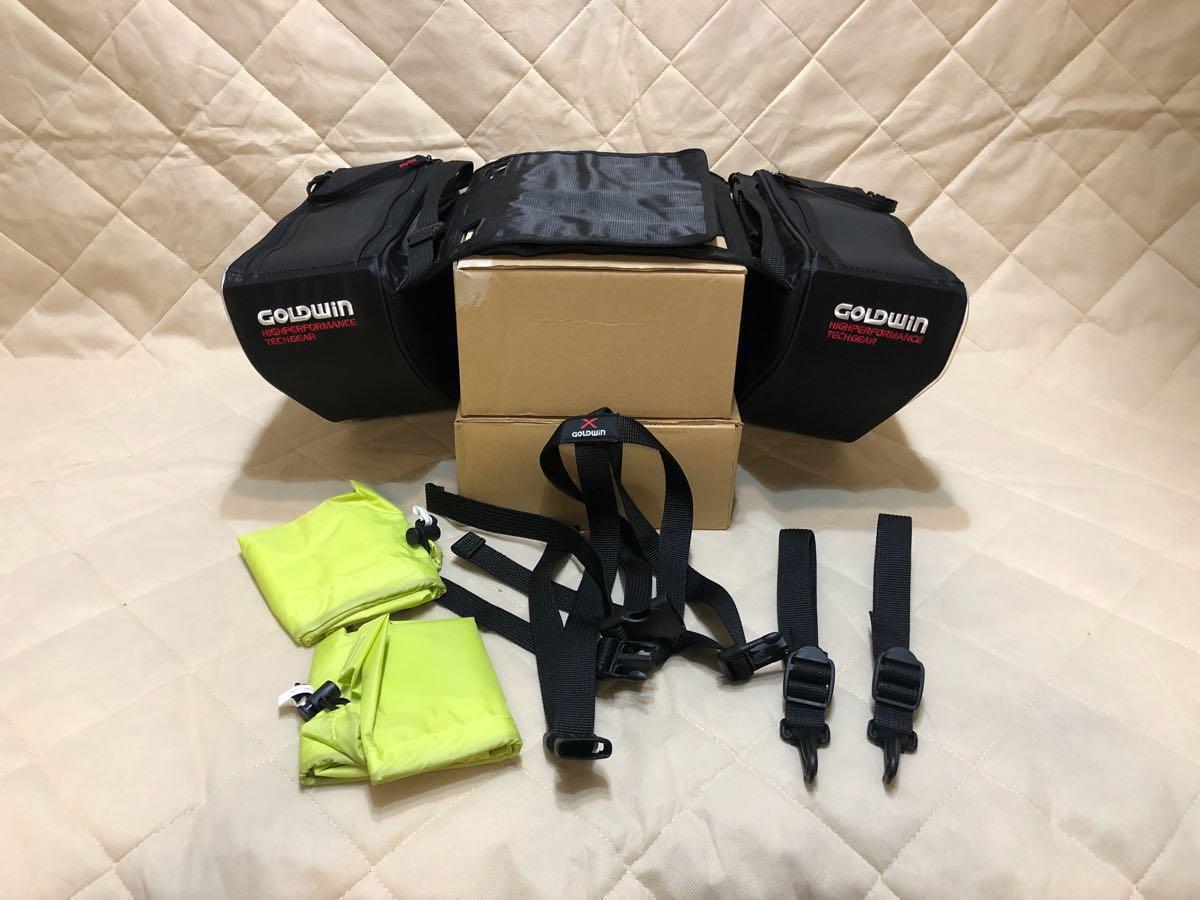 GOLDWIN ゴールドウイン スポーツシェイプサイドバッグ12 ブラック GSM17504