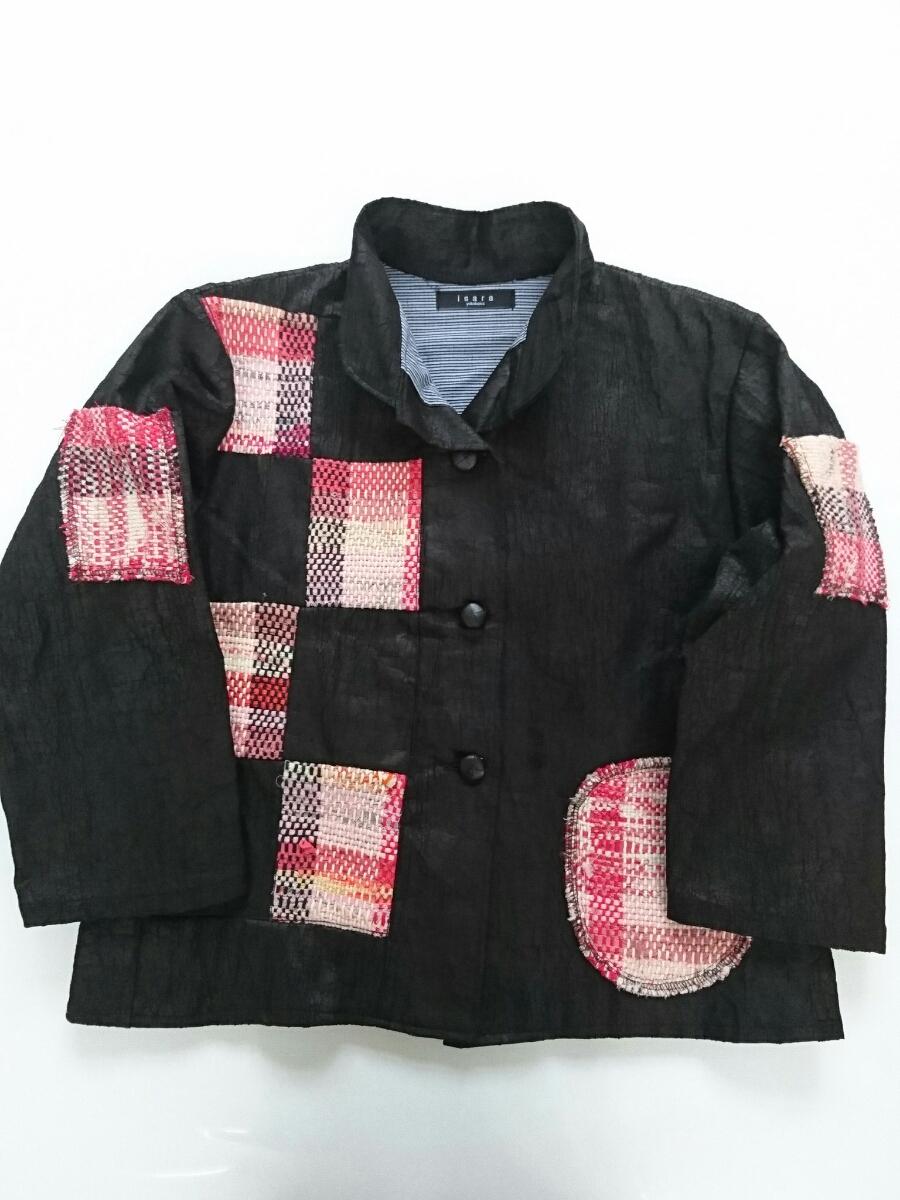 isara ジャケット いさら あんど 和 パッチワーク_画像1