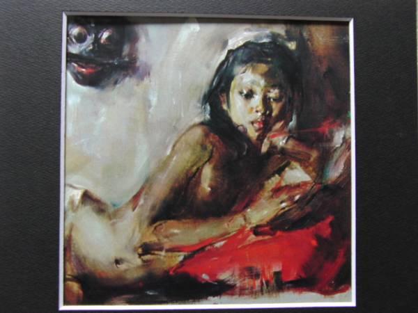 ANTONIO BLANCO(アントニオ ブランコ)、リデイス嬢、希少な額装用大判画集画、状態良好、送料込み、y321_画像3