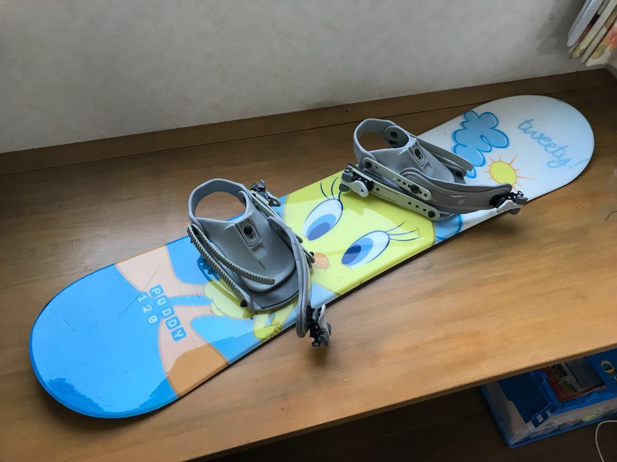 キッズ スノーボード トゥイーティー 120センチ 中古品