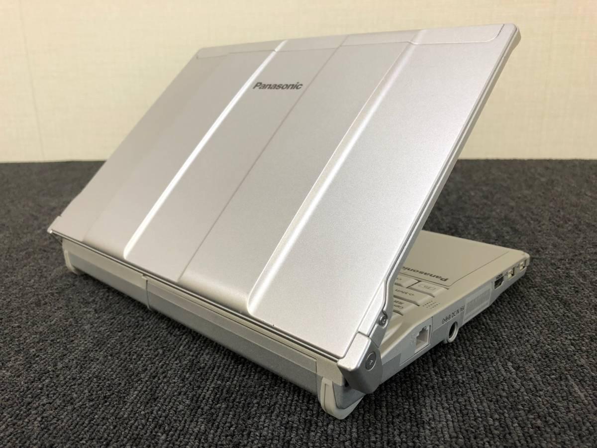 01-A227S【Panasonic】Let's note CF-S8HWECDS C2D P8700/2GB/250GB/DVDマルチ/12.1型/Win7 Pro★リカバリ済み★_画像5