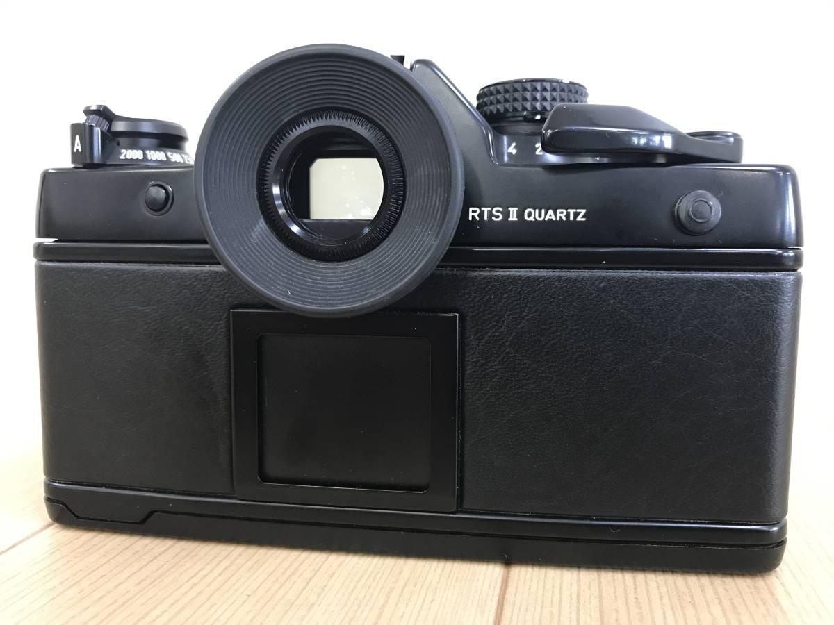 01-I920P【CONTAX コンタックス】RTS Ⅱ QUARTZ レンズ Carl Zeiss Planar 1,4/50 T 55mm◆ジャンク_画像4