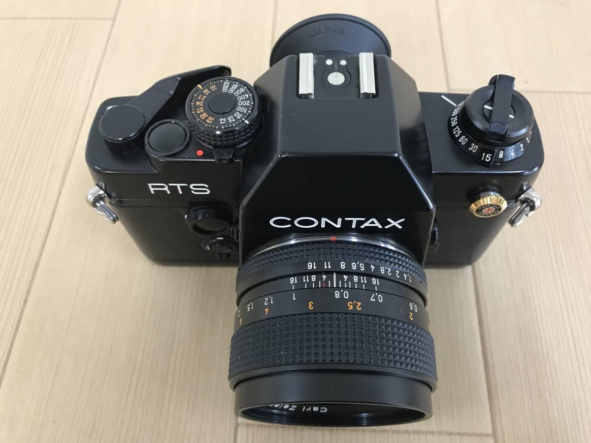 01-I920P【CONTAX コンタックス】RTS Ⅱ QUARTZ レンズ Carl Zeiss Planar 1,4/50 T 55mm◆ジャンク_画像3
