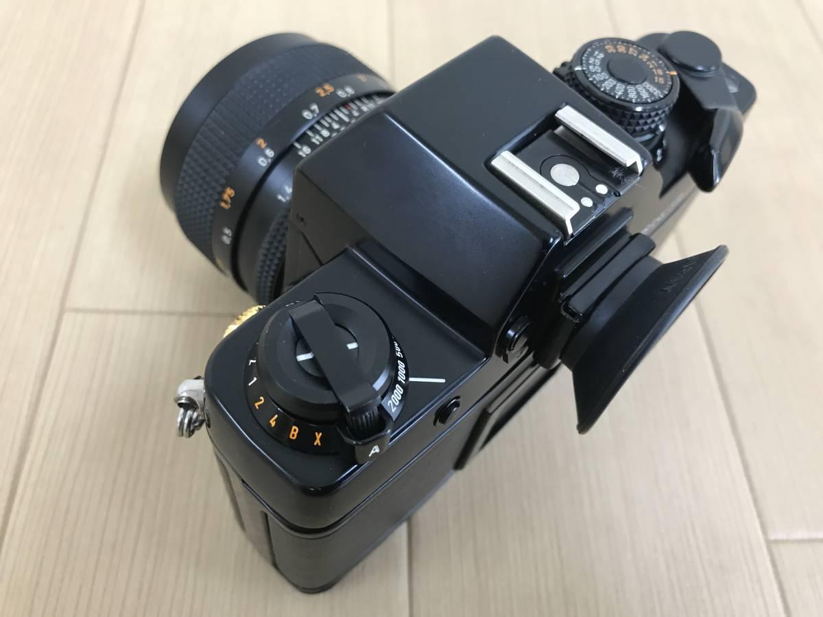 01-I920P【CONTAX コンタックス】RTS Ⅱ QUARTZ レンズ Carl Zeiss Planar 1,4/50 T 55mm◆ジャンク_画像5
