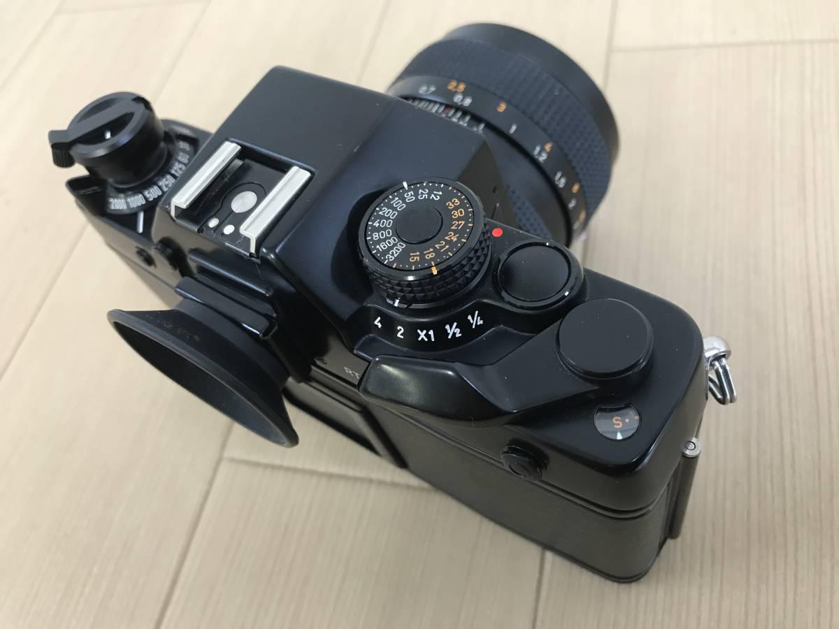 01-I920P【CONTAX コンタックス】RTS Ⅱ QUARTZ レンズ Carl Zeiss Planar 1,4/50 T 55mm◆ジャンク_画像6