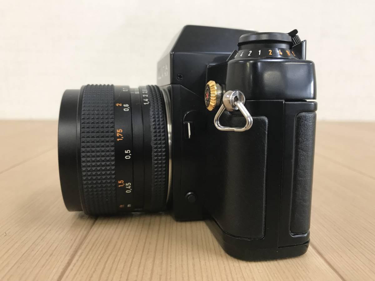 01-I920P【CONTAX コンタックス】RTS Ⅱ QUARTZ レンズ Carl Zeiss Planar 1,4/50 T 55mm◆ジャンク_画像7