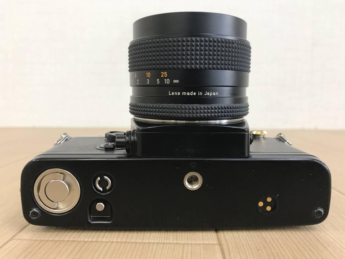 01-I920P【CONTAX コンタックス】RTS Ⅱ QUARTZ レンズ Carl Zeiss Planar 1,4/50 T 55mm◆ジャンク_画像9