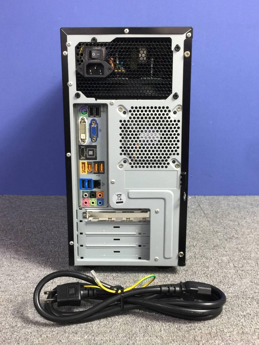 01-C184L【自作PC】AMD Phenom Ⅱ X4 955/メモリ2GB/HDD500GB/DVDマルチ/デスクトップPC ■難あり■_画像2