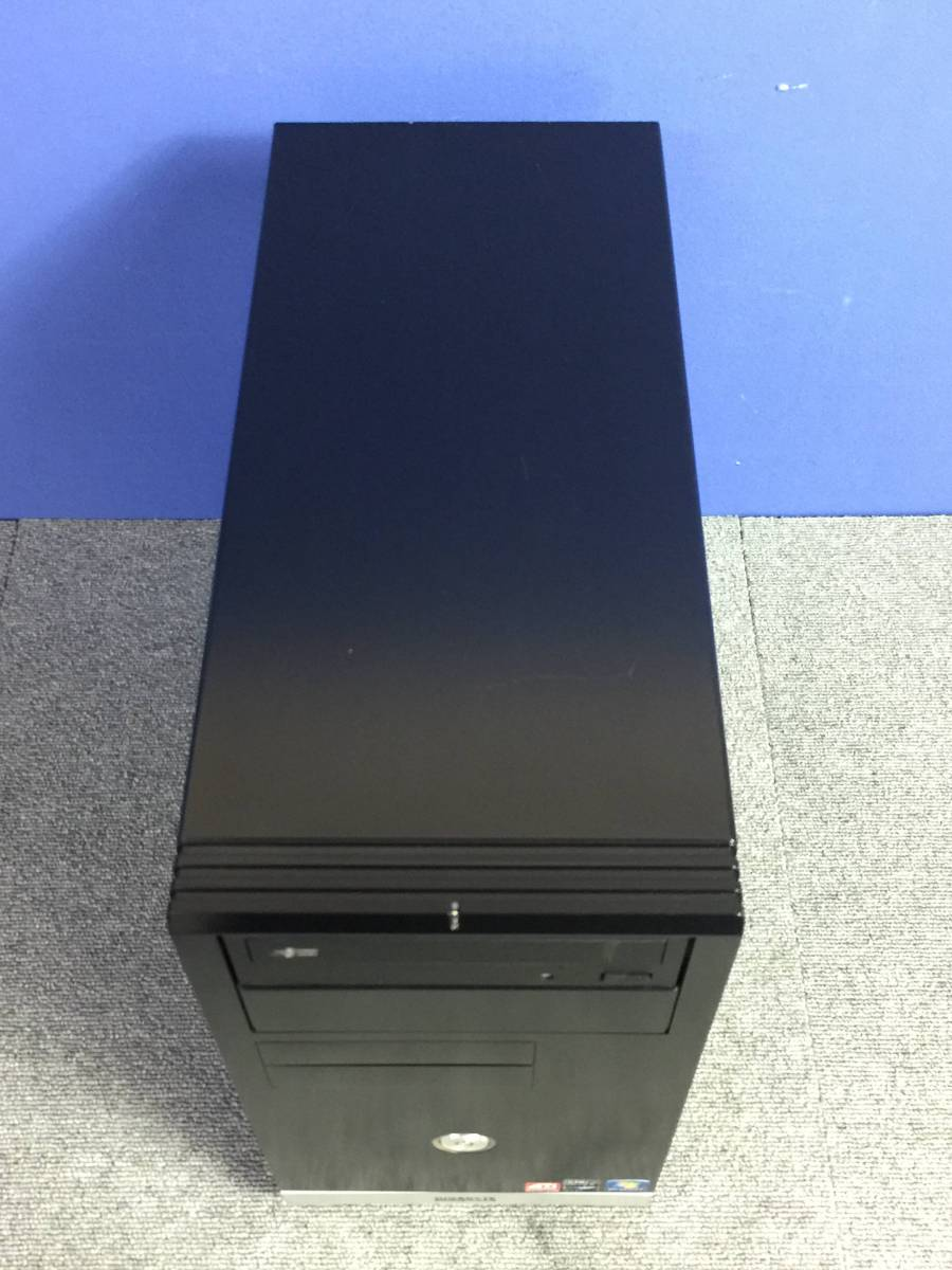 01-C184L【自作PC】AMD Phenom Ⅱ X4 955/メモリ2GB/HDD500GB/DVDマルチ/デスクトップPC ■難あり■_画像9