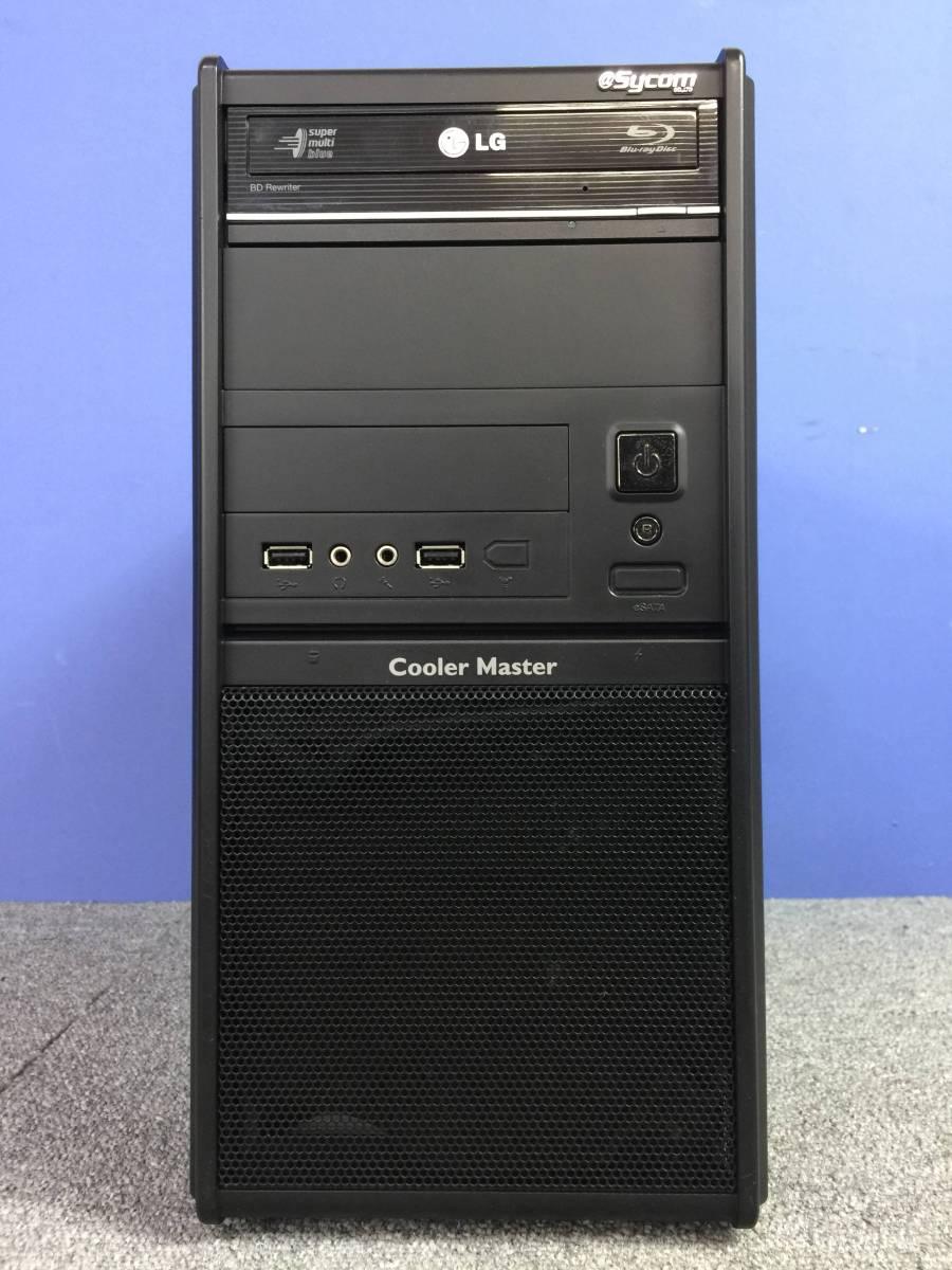 01-C461M【自作PC】デスクトップPC Core i7-3770K/メモリ8GB/ブルーレイ/ZOTAC GTX 560 Ti/500W/COOLER MASTER ■ジャンク■_画像2