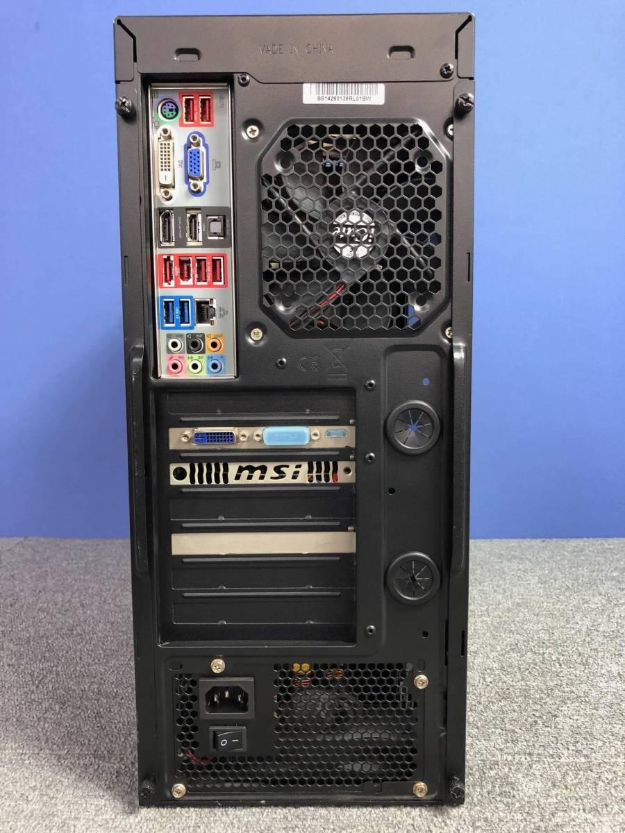 03-A311M【自作PC】Core i7-2600K/8GB/SSD120GB+HDD1TB/ブルーレイ/GTX550Ti/700W電源★Windows10★_画像4