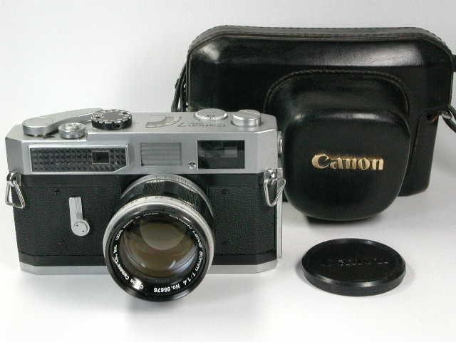 CANON 7 + CANON 50mm F1.4  Lマウント     キャノン レンジファインダー