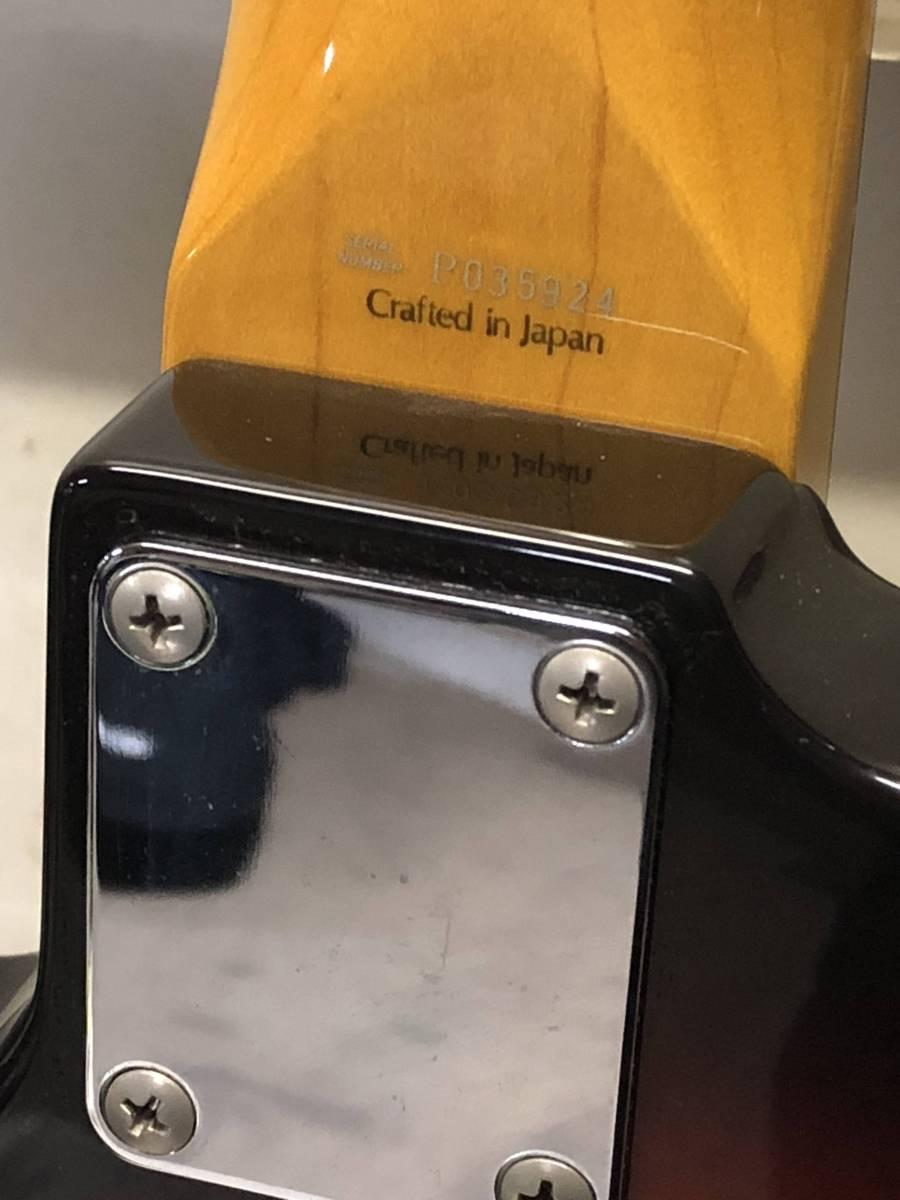 [中古 エレキベース ケース付]FENDER JAPAN JAZZ BASS_画像7
