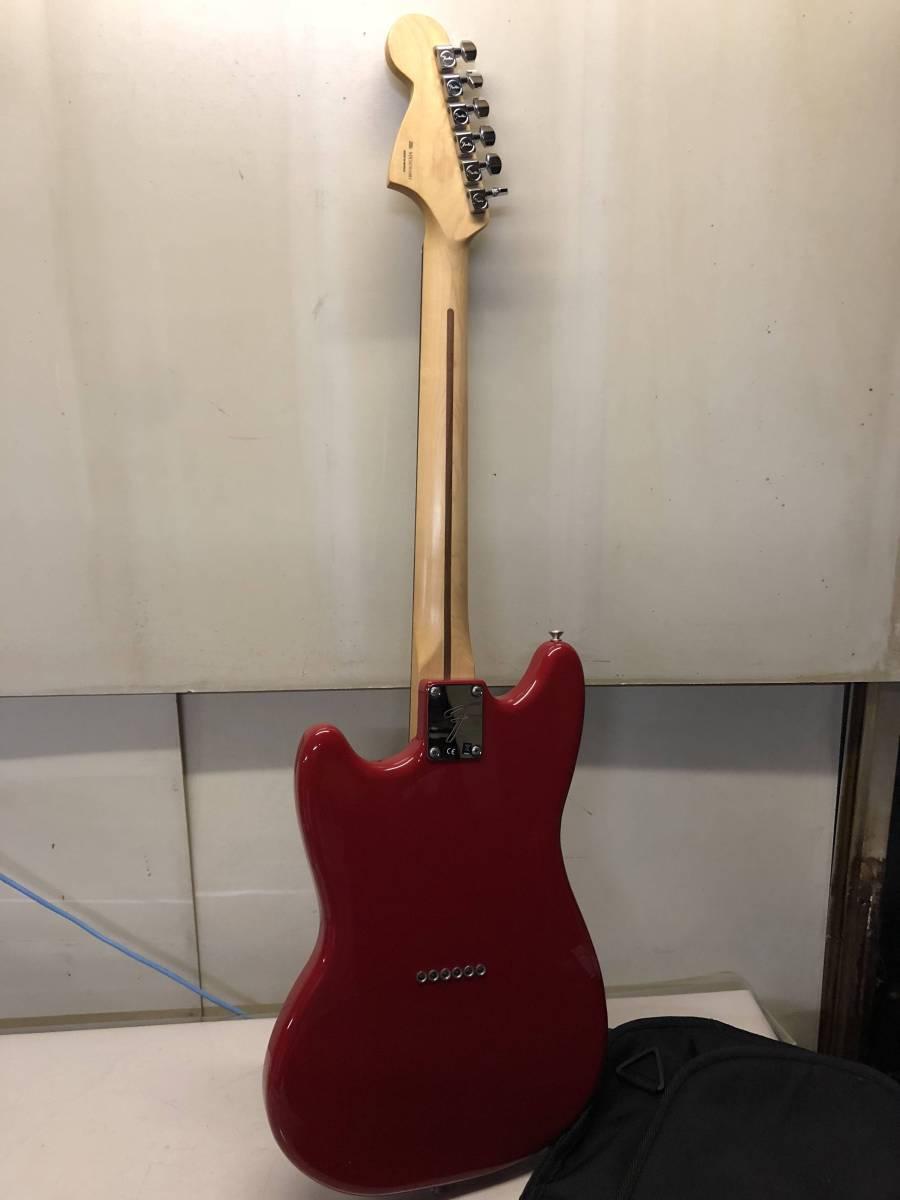 [ジャンク扱い エレキギター ケース付 綺麗]FENDER Mustang 90_画像4