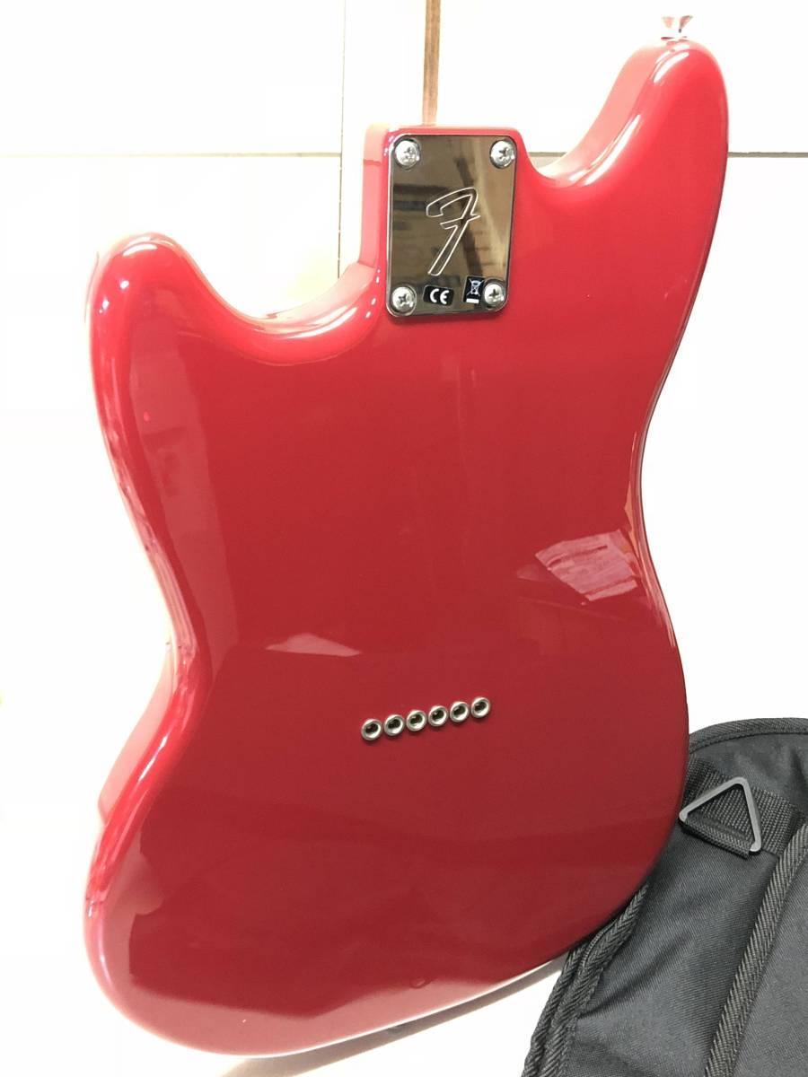 [ジャンク扱い エレキギター ケース付 綺麗]FENDER Mustang 90_画像6