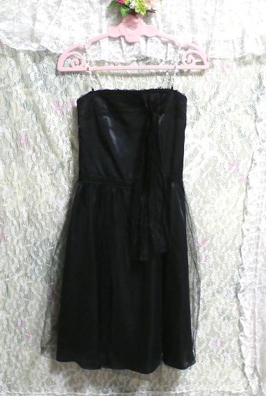 黒レースキャミソールワンピースドレス Black lace camisole onepiece onepiece dress_画像2