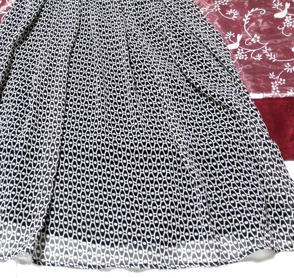 チュニック風黒色みつあみ黒肩紐/ワンピース/スカート Tunic style black shoulder strap/onepiece/skirt_画像2