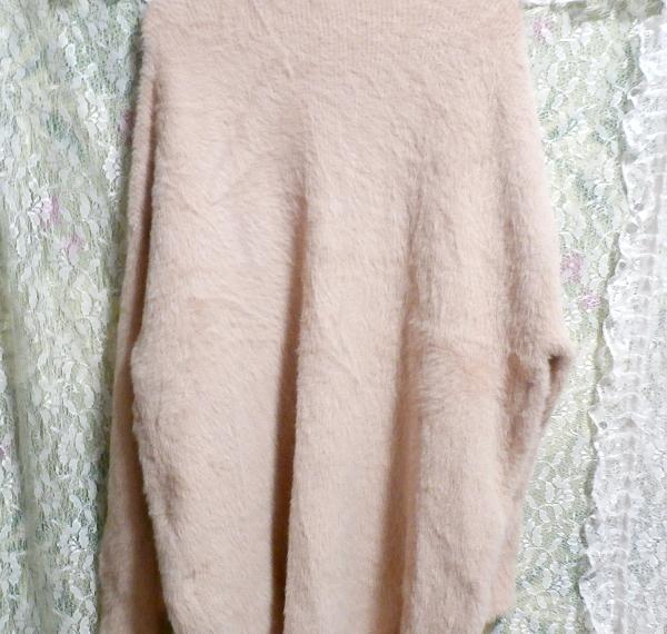 ピンク色毛風フワフワあったか羽織/カーディガン Pink hair fluffy/cardigan_画像3