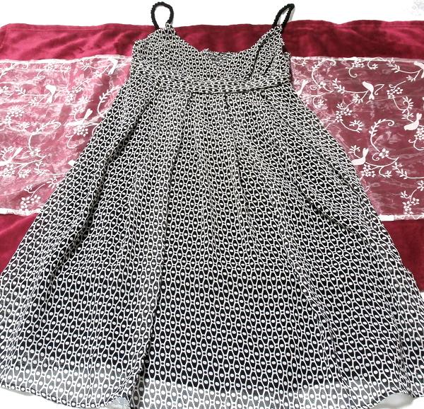 チュニック風黒色みつあみ黒肩紐/ワンピース/スカート Tunic style black shoulder strap/onepiece/skirt
