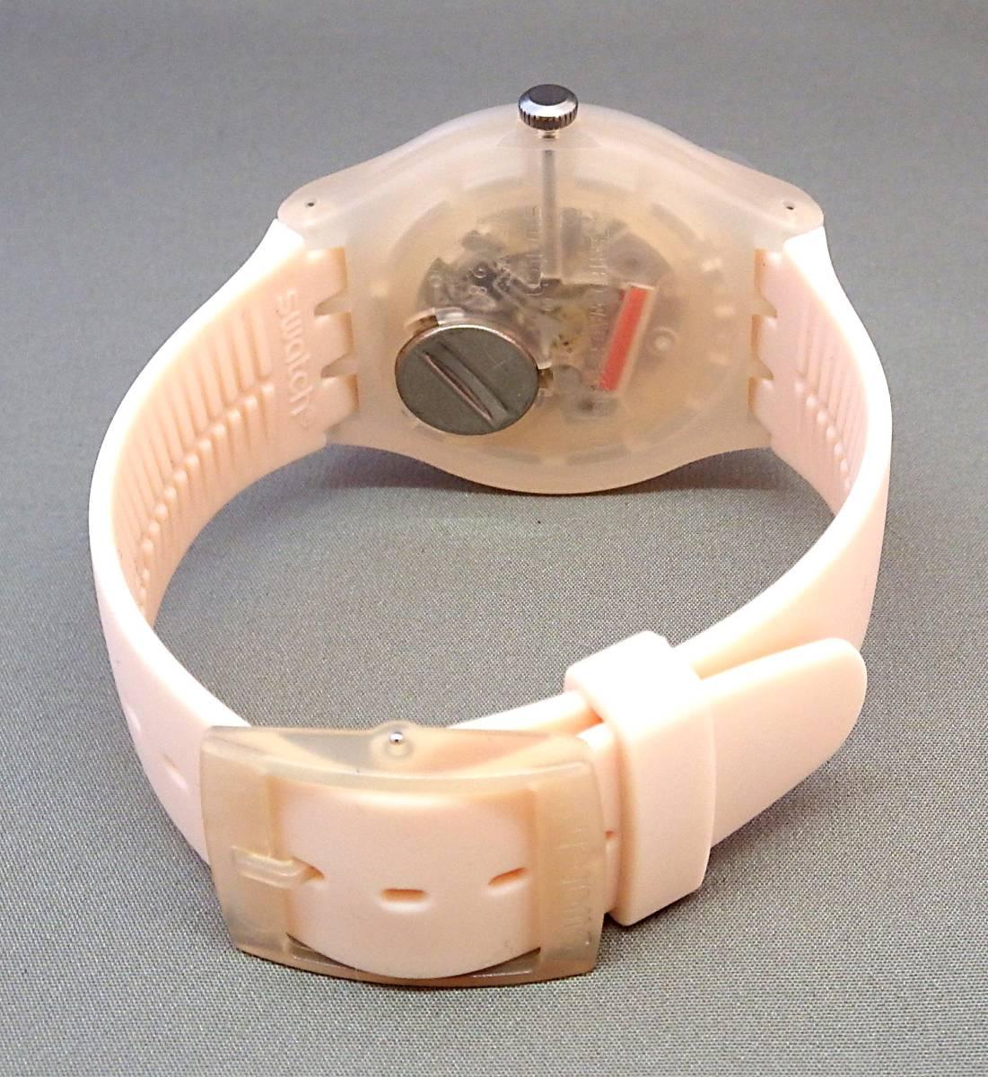 EU-9112■swatch スウォッチ SUOT700 メンズ腕時計 3針カレンダ- ケース付き 中古■切手可_画像3