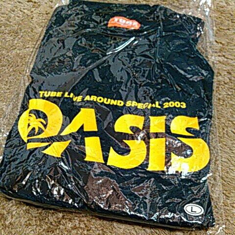 TUBE Live Around Special 2003 【OASIS】オアシス Tシャツ         紺色 Lサイズ 【未使用品】_画像2