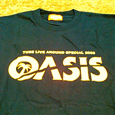 TUBE Live Around Special 2003 【OASIS】オアシス Tシャツ         紺色 Lサイズ 【未使用品】_画像3
