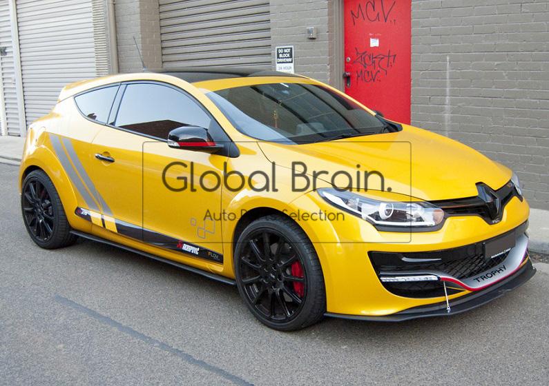 Renault Megane Spoiler