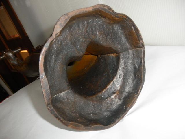 @@ ◆観音様 仏像 金属工芸 鉄 古民具 レトロ調 アンティーク調 インテリア 雑貨 彫刻 東洋彫刻 _画像10
