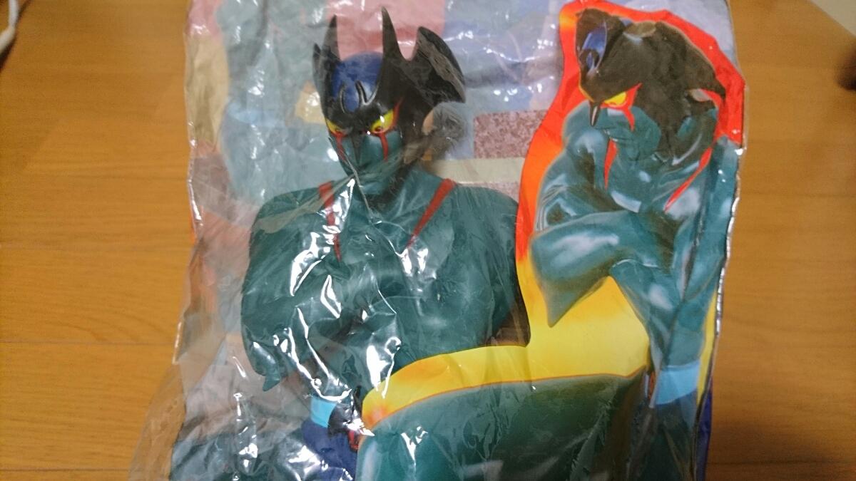 ☆☆激レア!☆新品未開封!完品☆DXデビルマン・ビッグサイズソフビ!☆TVエンディングVer☆バンプレスト マルサン ブルマアク ポピー☆☆_画像6