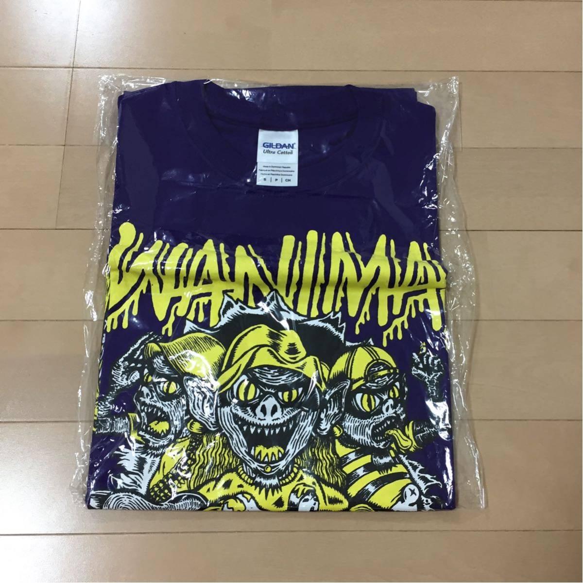 新品未開封●WANIMA Tシャツ Sサイズ 紫色 ワニマ●