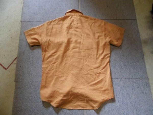 ビンテージ 80s メーカー不明 半袖 ウエスタンシャツ 検 4*691_画像2