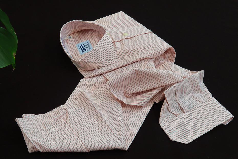 ★イタリアシャツ DANROMAワイドカラーシャツDOVER_F18-60 140番手双糸の調べ♬~ 品質の良さが男の色気を惹きたてます S 38-87_画像4