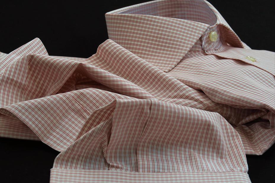 ★イタリアシャツ DANROMAワイドカラーシャツDOVER_F18-60 140番手双糸の調べ♬~ 品質の良さが男の色気を惹きたてます S 38-87_画像5