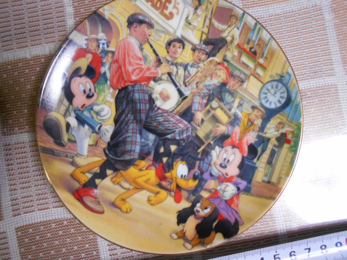 ★ミッキーマウス・ディズニー★飾り皿★2枚★東京ディズニーランド★ミニーマウス★グーフィー★ドナルドダック★プルート★_画像4