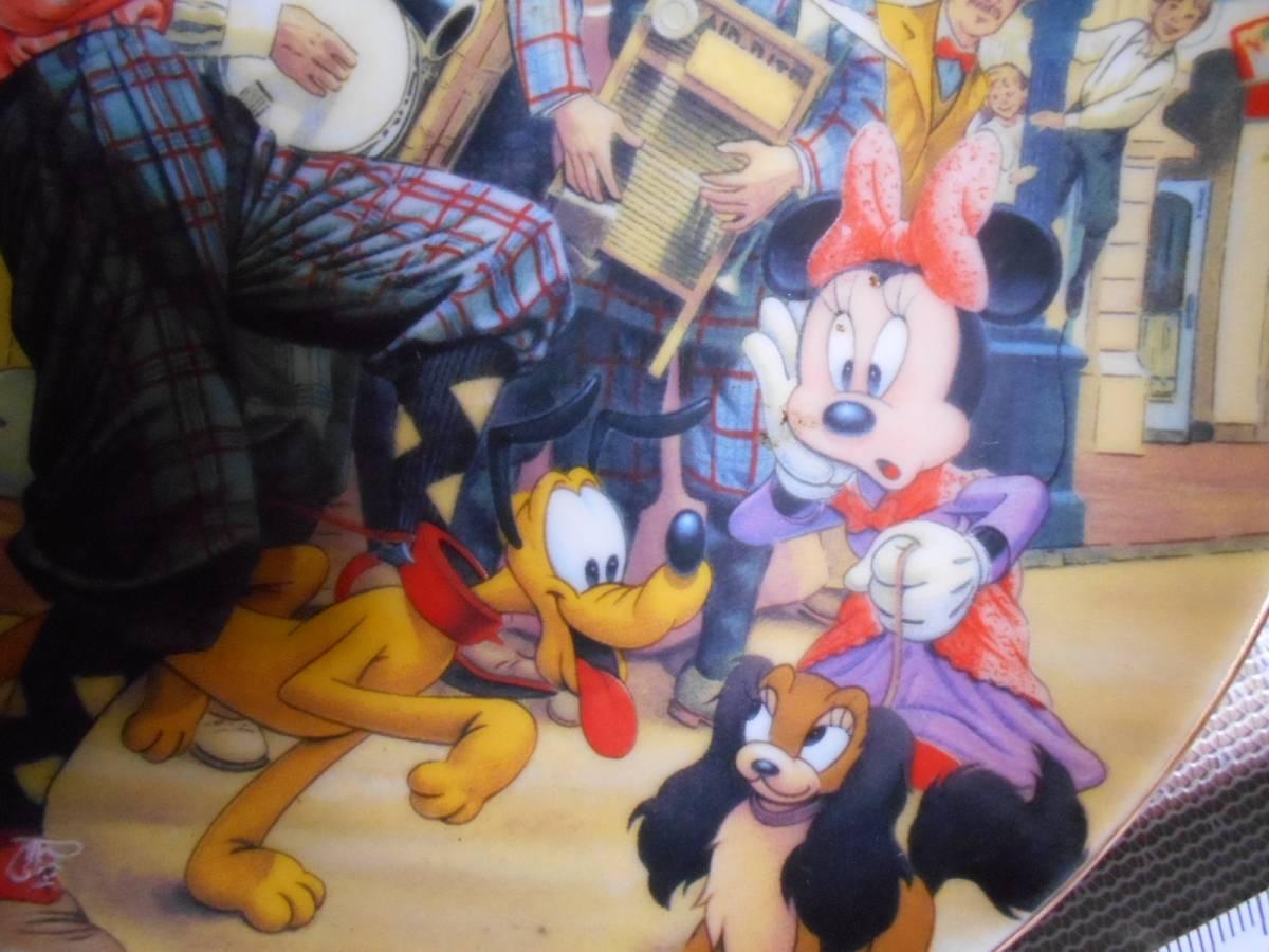 ★ミッキーマウス・ディズニー★飾り皿★2枚★東京ディズニーランド★ミニーマウス★グーフィー★ドナルドダック★プルート★_画像5
