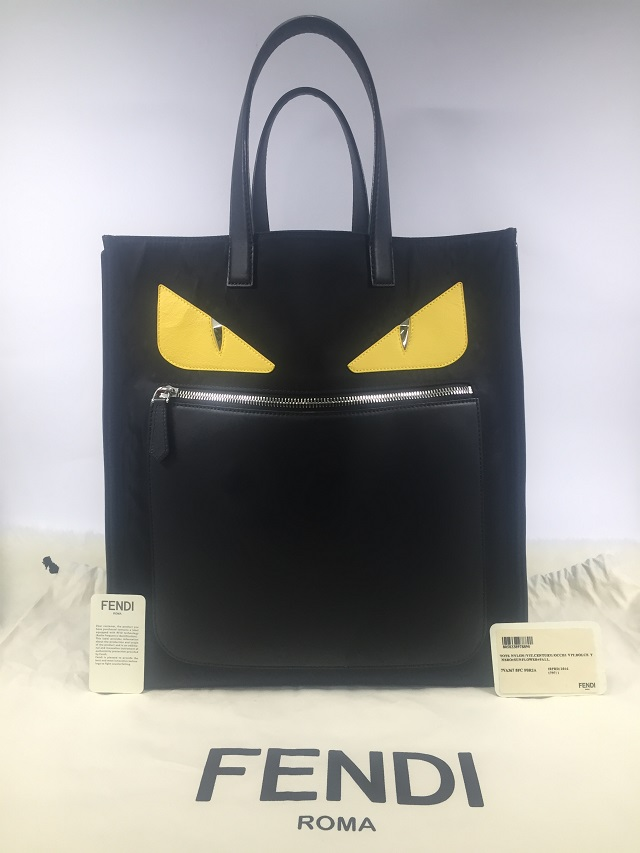 FENDI★定価14万円購入★ BAG BUGS Monster トートバッグ★バッグバグズモンスタ