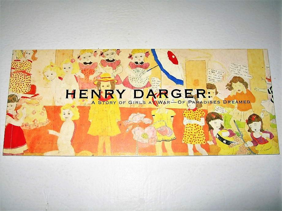 ◇【アート】ヘンリーダーガー 少女たちの戦いの物語-夢の楽園・2007年◆HENRY DARGER◆非現実の王国で アウトサイダー アールブリュット_画像1