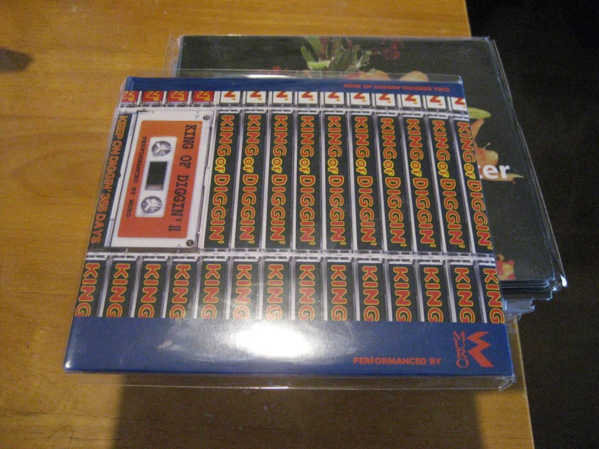 新品MIXCD2枚組 DJ MURO DJムロ KING OF DIGGIN' VOL.2 (2CD)  dev large rare groove_画像1